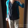 冷えとりファッション初夏 シルクのブラウスと鮮やかなカーディガン