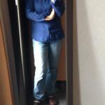 冷えとりファッション春 ユニクロのリネンシャツ