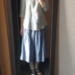 冷えとりファッション夏 気持ちがいいスカート