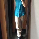 冷えとりファッション夏 同じ青でも