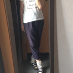 冷えとりファッション夏 Tシャツはやっぱり楽