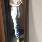 冷えとりファッション夏 久しぶりのデニム