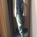 冷えとりファッション春 リネンのフレンチスリーブ