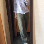 冷えとりファッション春 履き比べるとやっぱりこっちのパンツが好き