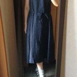 冷えとりファッション夏 リネンのワンピース