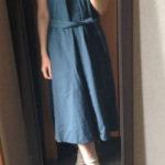 冷えとりファッション夏 ルメールのワンピース