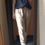 冷えとりファッション夏 コットンノースリーブ