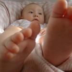 足の指が裂けた!
