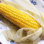 旬のトウモロコシを電子レンジ調理 旬の野菜で冷えとり強化