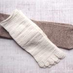 【冷えとり靴下】初心者にピッタリ!ヒオリエの内絹外ウール2枚セット