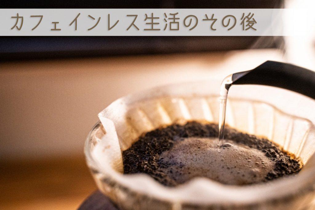 カフェインレス生活のその後、カフェインとの今の付き合い方