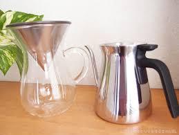 キントー コーヒーカラフェセットとプアオーバーケトルで幸せなコーヒータイム